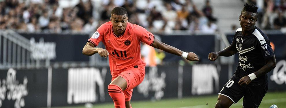 Kylian Mbappé pedirá salir del Paris Saint-Germain si este verano no ganan la Champions