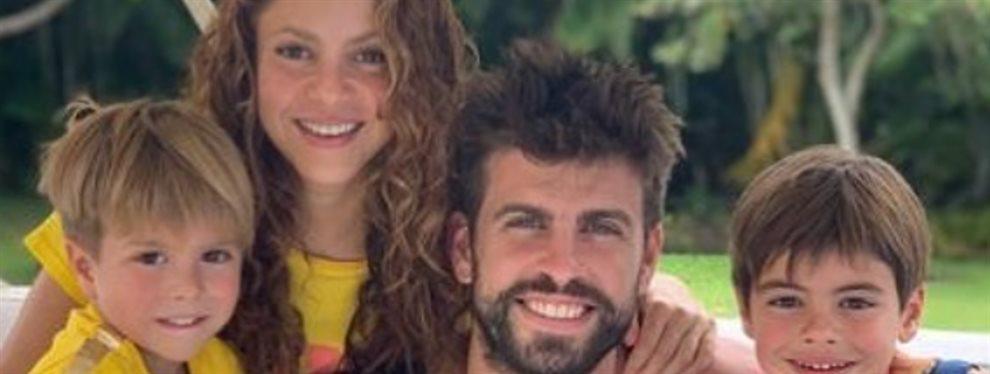 El amor de Shakira se entromete entre ella y Piqué