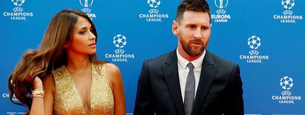 Antonella Roccuzzo como pareja del mejor jugador del mundo ha sido reconocida en segundo plano.