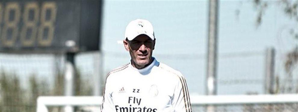 Zidane debe reprender a uno de sus jugadores por un mal comportamiento: El vestuario blanco está descontrolado