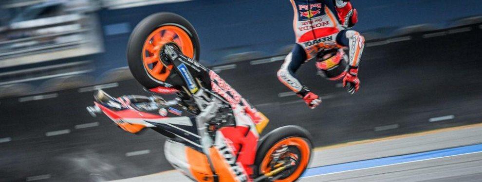 El fallo de Márquez que casi le cuesta el GP de Tailandia