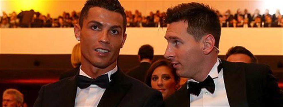 Cristiano lo vuelve a hacer. Acostumbrado a robarle premios a Leo Messi ahora le roba el protagonismo. Un amigo del argentino le traiciona