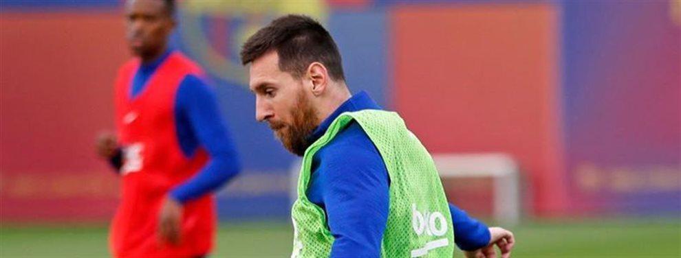 Messi desata una guerra en el club con el resultado de echar a un compañero: La tensión se palpa