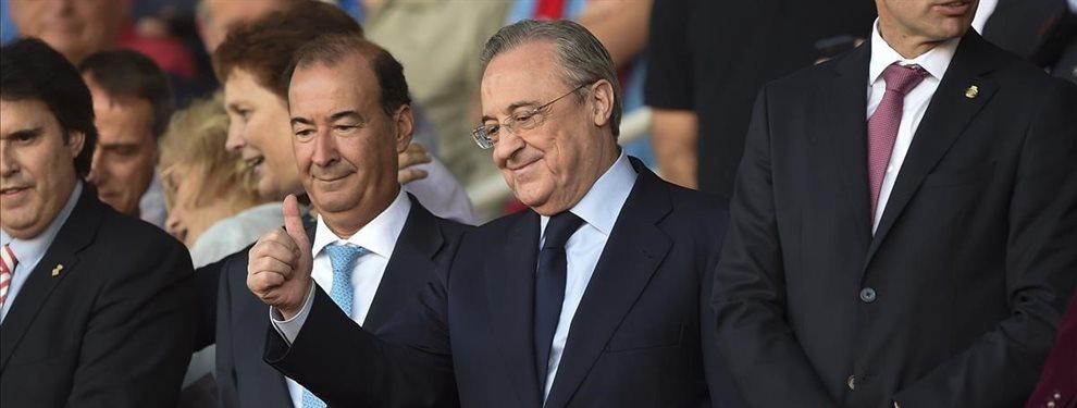 Florentino Pérez le echa el lazo al brasileño que ha rechazado el Barça