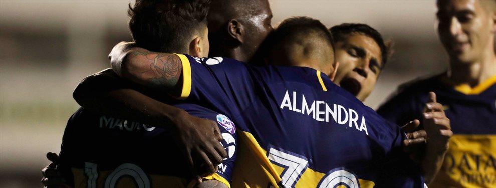 En Florencio Varela, Boca se impuso por 1 a 0 frente a Defensa y Justicia con gol de Agustín Almendra.