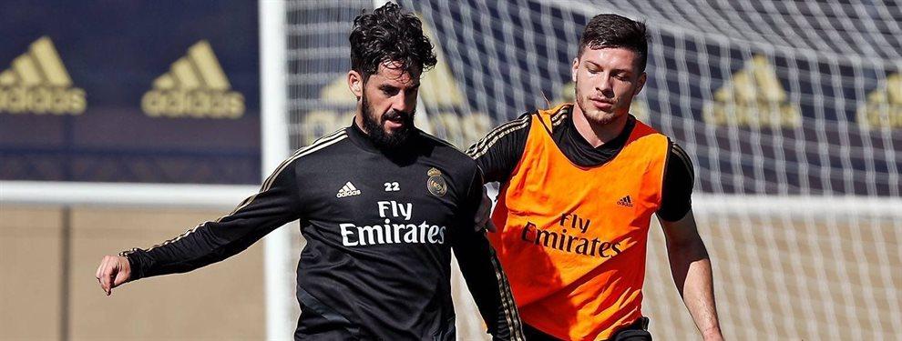 Zinedine Zidane y el Santiago Bernabéu se cansan de Isco Alarcón y le colocan el cartel de transferible desde ya: Florentino Pérez le encuentra equipo