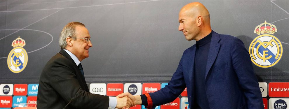 Florentino Pérez y Zinedine Zidane se han enzarzado por culpa de Vinicius Junior