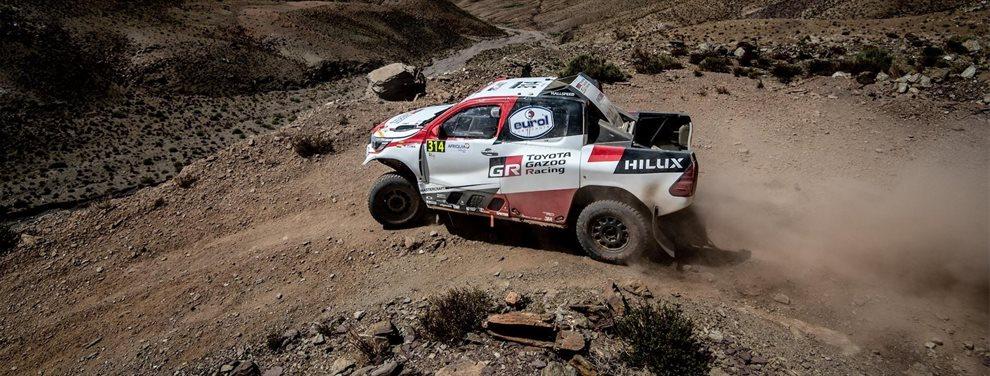 Fernando Alonso sufre un terrible contratiempo en el Rally de Marruecos y en su preparación para el Dakar 2020 pero mira su conducción ¡Bestial!