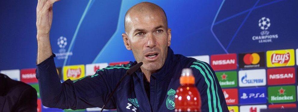 Zinedine Zidane amenaza a Mariano Díaz para que salga del Real Madrid y libere espacio