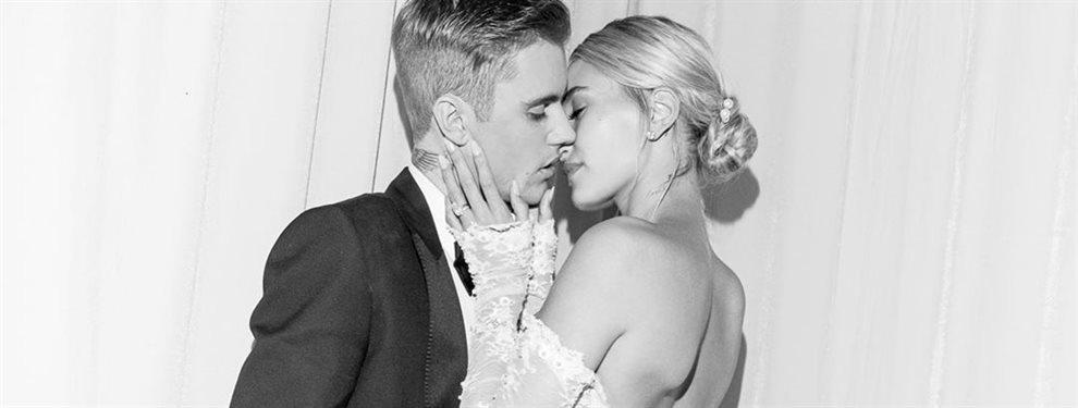 ¡Vas a alucinar! con la foto que se ha filtrado de la boda de Justin y Hailey Bieber y que revela el nivel del enlace del año ¡mira que se ha hecho!