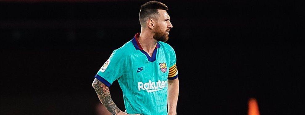 Leo Messi recomendó para el Barcelona al ex jugador culé pero gracias a Dios la directiva decidió hacer oídos sordos a la petición de Leo