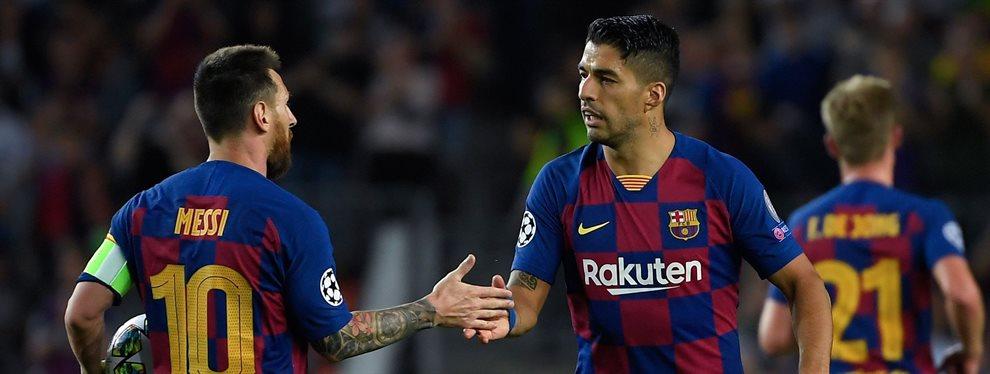 Luis Suárez y Leo Messi ven a Jean-Claire Todibo muy 'verde' como para jugar en el Barça