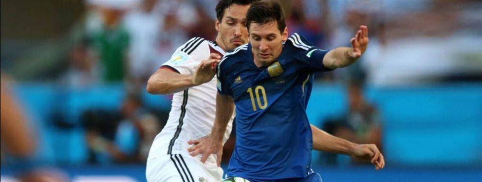 Toda la información del amistoso entre Argentina y Alemania en Dortmund