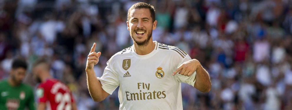 ¿Sabes lo que pesa Eden Hazard? En el Real Madrid no quieren hablar de ello