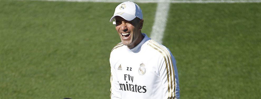 Isco Alarcón y Zinedine Zidane se las tuvieron en el último entrenamiento del Real Madrid