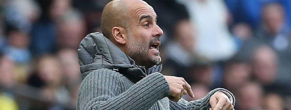 Pep Guardiola le niega la conversación a Florentino Pérez y le lanza un mensaje durísimo: el fichaje es del Manchester City y el Madrid lo verá en TV