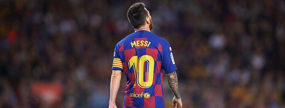 Leo Messi no ha quedado muy convencido con el rendimiento de Junior Firpo y podría sacrificarle para traer a Tagliafico