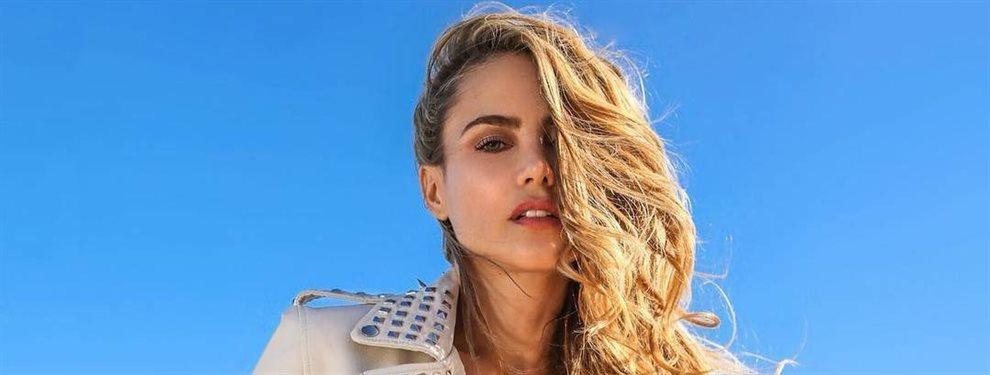 La modelo Ximena Córdoba coincide en televisión con la cantante Karol G y se funde en un abrazo tan fuerte que parece no querer que se marche del plató