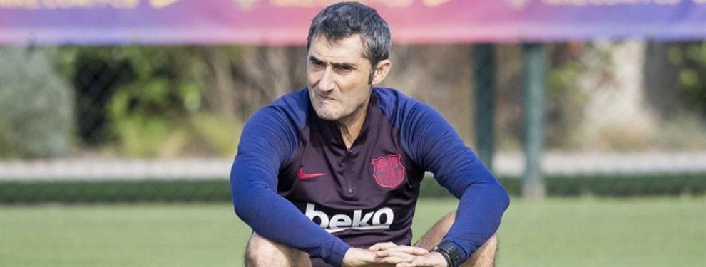Samuel Umtiti pide salir del Barça y Ernesto Valverde la ha tenido con él. Messi acepta su venta.