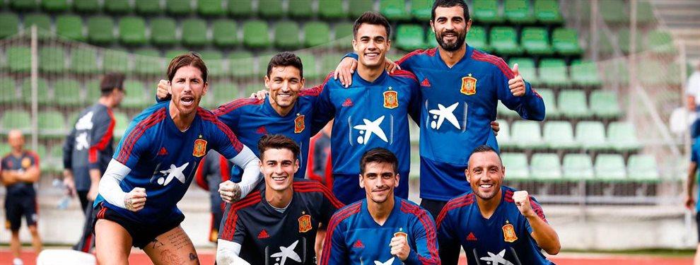 ¡Exclusiva en el Madrid! El 9 de España que sondea Florentino Pérez