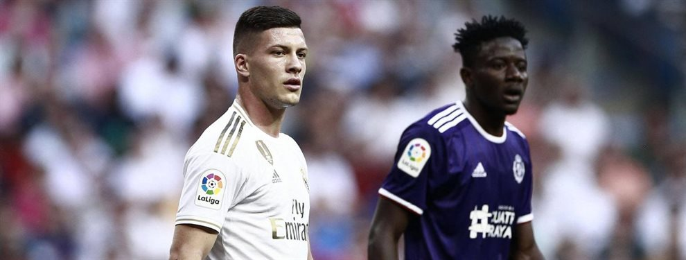 Zinedine Zidane no está nada contento con Luka Jovic, que puede salir. Y habría pedido a Erling Haland