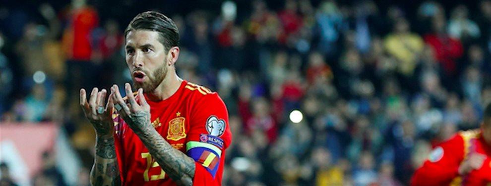 Sergio Ramos no aguanta más y estalla. El presidente no le deja marchar al equipo que él quiere y esto puede ser un motivo de ruptura final para el jugador