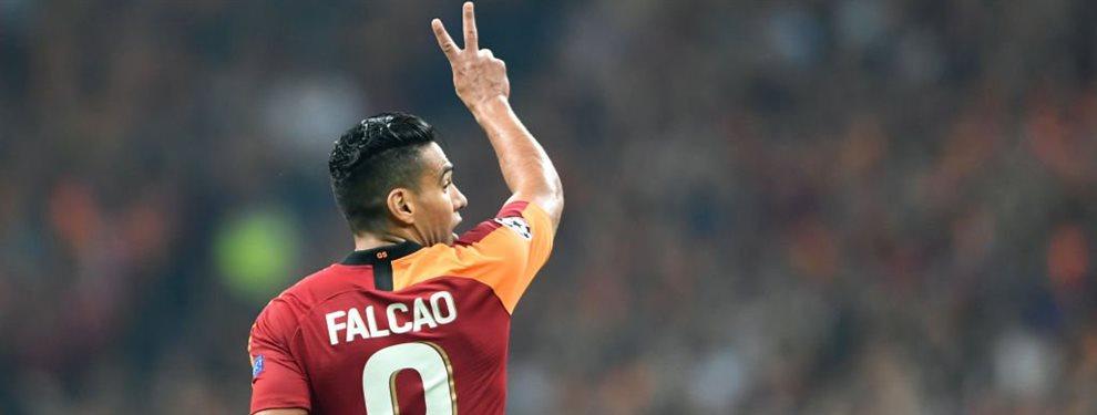 Radamel Falcao se pone serio y pretende quitarle al Barça a este crack ex madridista que pretenden los culés: Fatih Terim le quiere para el Galatasaray