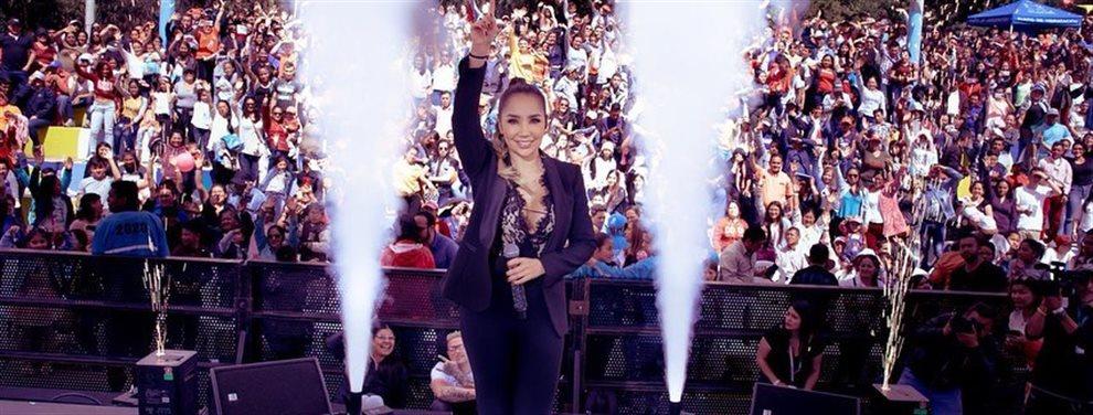 La cantante de rancheras Paola Jara sigue con el tema de Jessi Uribe abierto pero parece que le preocupa más el gimnasio que los líos de Jessi con su ex