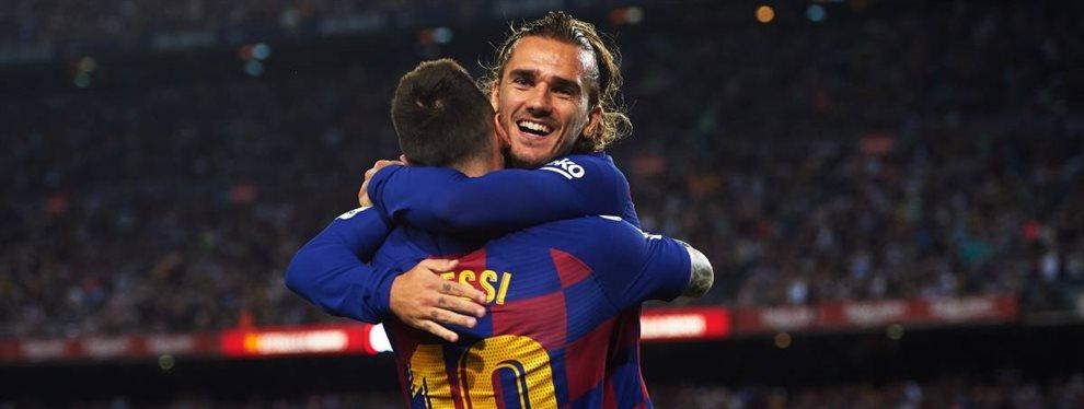 Leo Messi y Antoine Griezmann no son precisamente amigos y así lo acreditan en el Barça