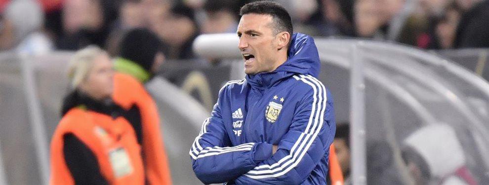 Lionel Scaloni realizaría cinco modificaciones en la Selección Argentina para enfrentarse con Ecuador en España.