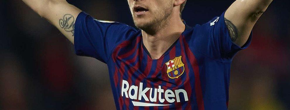 Valverde se lo exige a la directiva y Bartomeu lo acepta. Rakitic fuera del Barça YA. Iban a esperar a final de temporada pero finalmente será en Enero