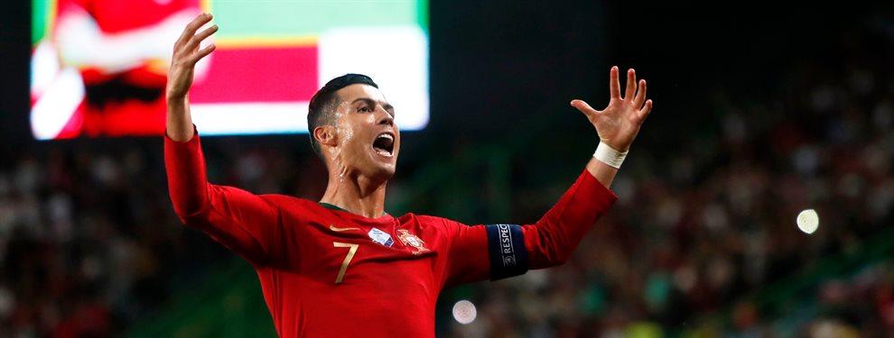 Cristiano Ronaldo en los partidos con la Selección de Portugal ha compartido con una nueva generación de futbolistas que tienen ilusionado a todo su país.
