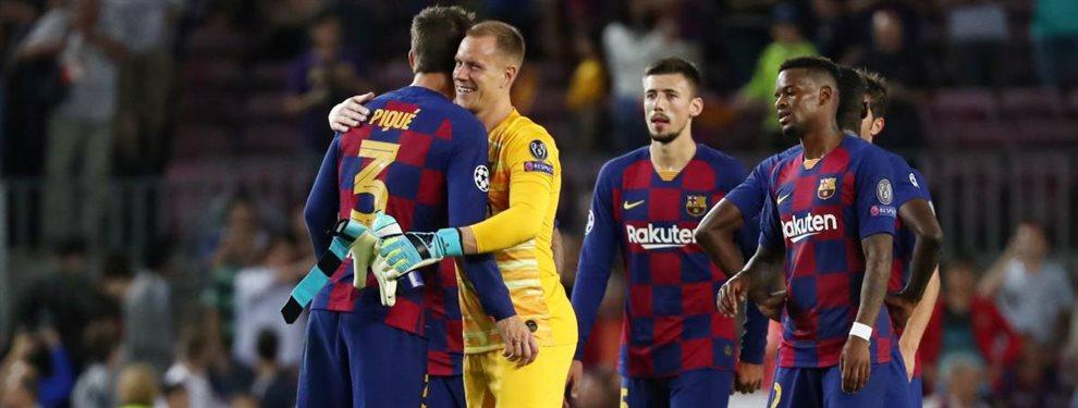 Gerard Piqué y Jordi Alba son otros de los pesos pesados que han señalado a Samuel Umtiti