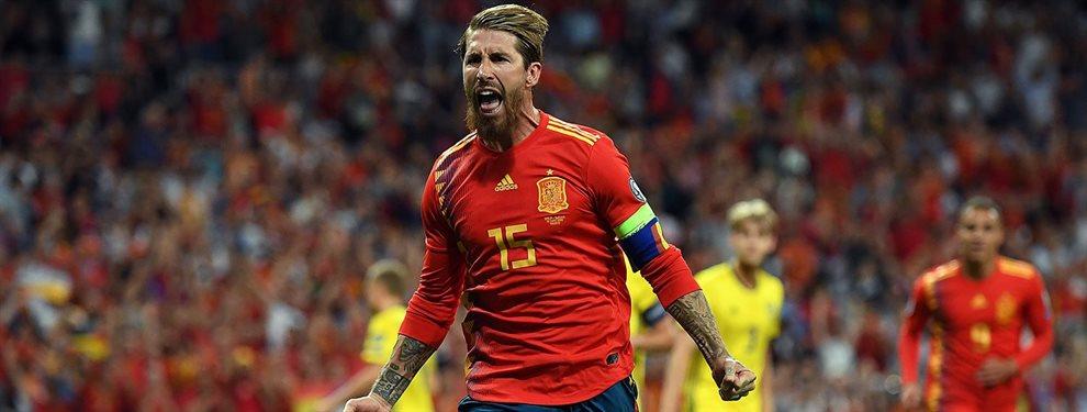 La etapa de Sergio Ramos en el Real Madrid llega a su fin y Florentino Pérez habría echado el ojo a Pau Torres