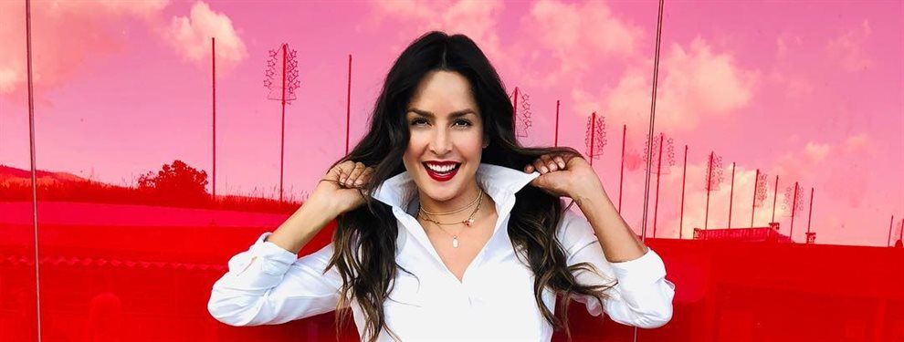 De tanto pensar en los preparativos y en el día de su boda, parece que a Carmen Villalobos se le ha olvido el estilo y el glamour que suele acompañarla