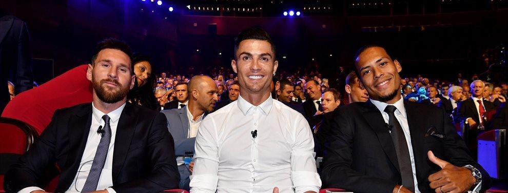 Sorpresa tremenda en el mundo del fútbol al nombrar al más importante del año: ¡Leo Messi, Virgil Van Dijk y Cristiano Ronaldo no salen de su asombro!