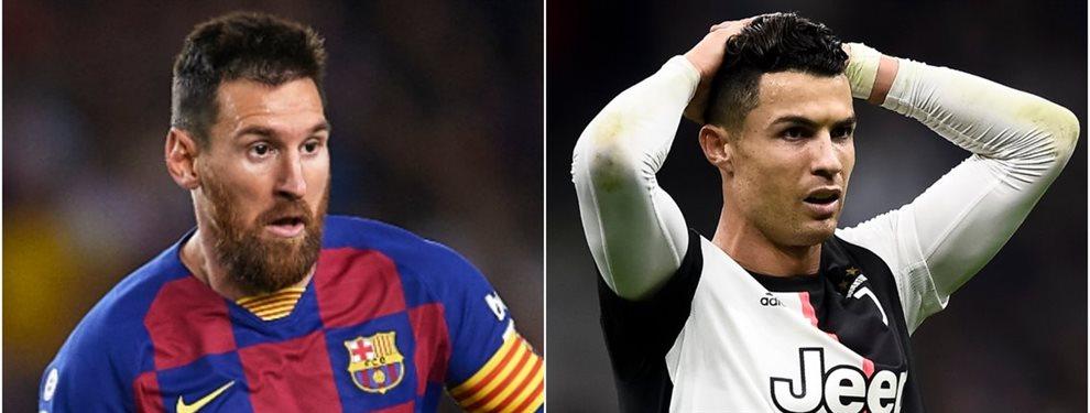 Pro Evolution Soccer quiere juntar a Leo Messi y Cristiano Ronaldo en la portada el año que viene