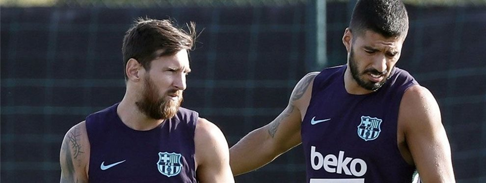 Lautaro Martínez se ha ofrecido al Barça como relevo de Luis Suárez, a un precio asumible