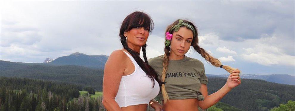 La madre de Sommer Ray, Shanon comparte el gusto por el fitness con su hija, además de compartir las fotos y rutinas deportivas que publican en sus redes