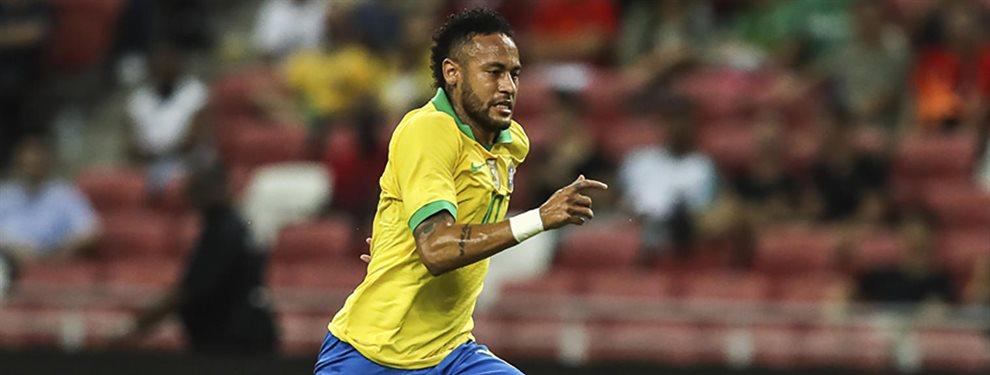 Neymar afirmó que quería llegar al Barça, pero su verdadera intención era acabar en el Real Madrid