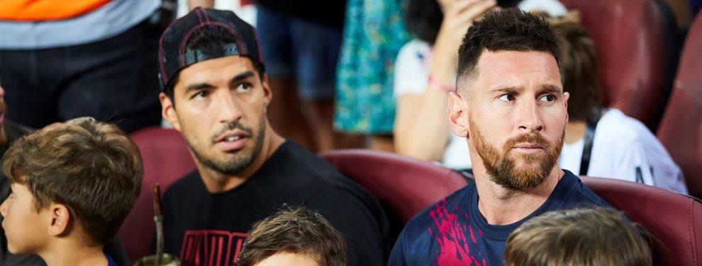 Leo Messi y Luis Suárez han advertido a Ernesto Valverde. Si pierde el Clásico, peligra su puesto