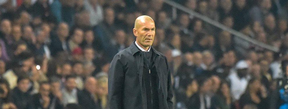 El jugador se encuentra completamente a disgusto con su entrenador y planea una salida en enero. ZIdane muy atento a los movimientos de todos los jugadores