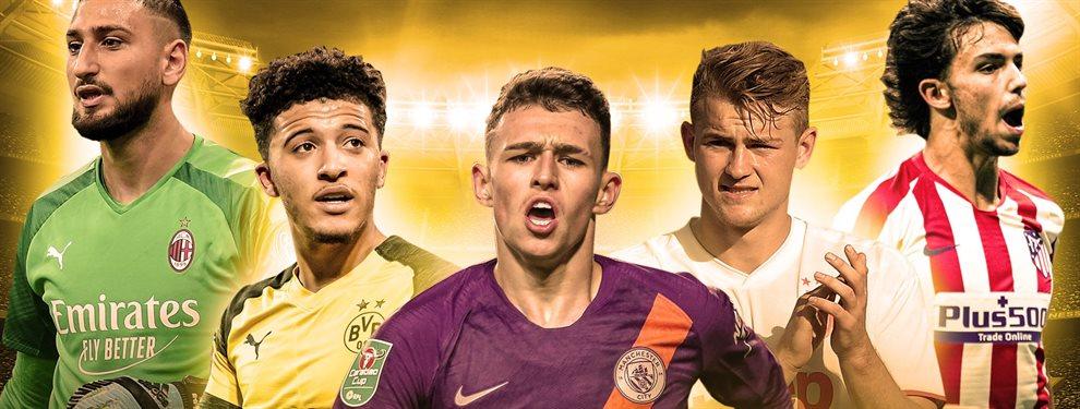 Florentino Pérez va a poner Europa patas arriba con estos dos fichajes aspirantes al Golden Boy: Zizou los quiere y el Madrid quiere firmarlos esta campaña