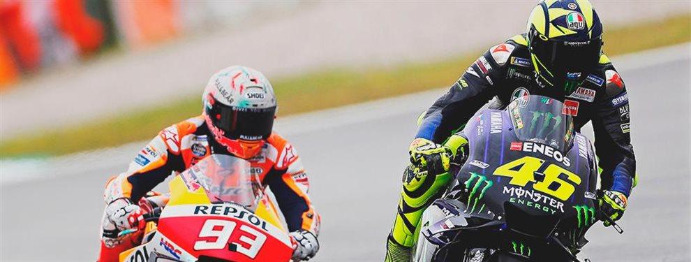 A Valentino Rossi se le acaban las voces a favor de que pueda volver a disputar un Campeonato del Mundo, más con Marc Márquez en activo ¡Ojo a esto!