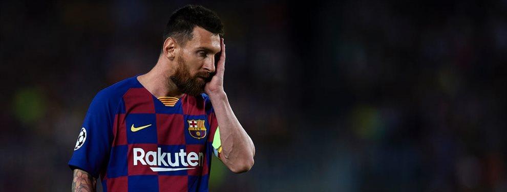 Leo Messi no acaba de verse seducido por Junior Firpo y pide a Tagliafico en enero