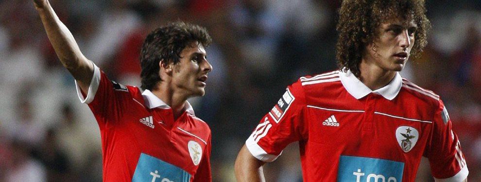 David Luiz, defensor brasileño del Arsenal, se deshizo en elogios para Pablo Aimar.