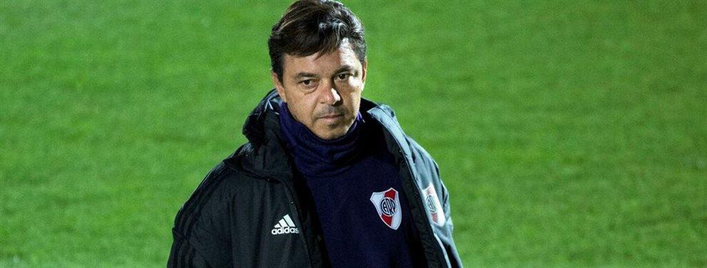 Marcelo Gallardo planifica una formación alternativa para que River visite a Arsenal.