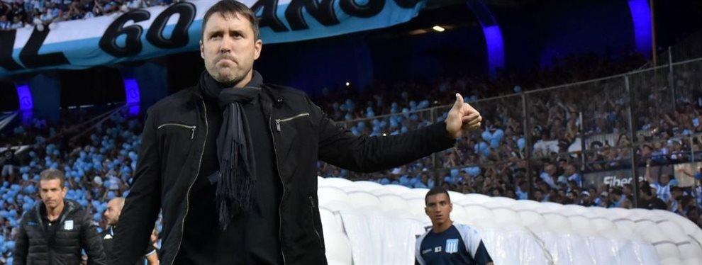 Eduardo Coudet recibió una millonaria oferta del Inter de Porto Alegre, pero en Racing confía en que continuará en el club.
