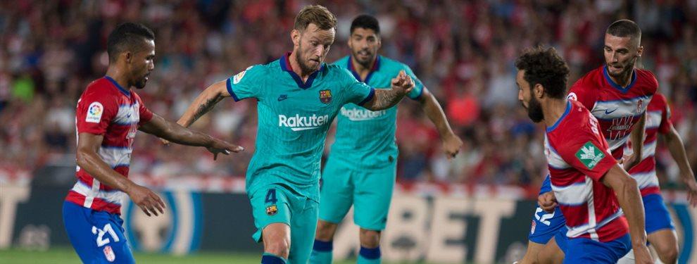 Ivan Rakitic busca una salida a la desesperada del Barça, que ya ha rechazado una oferta de 45 millones por él