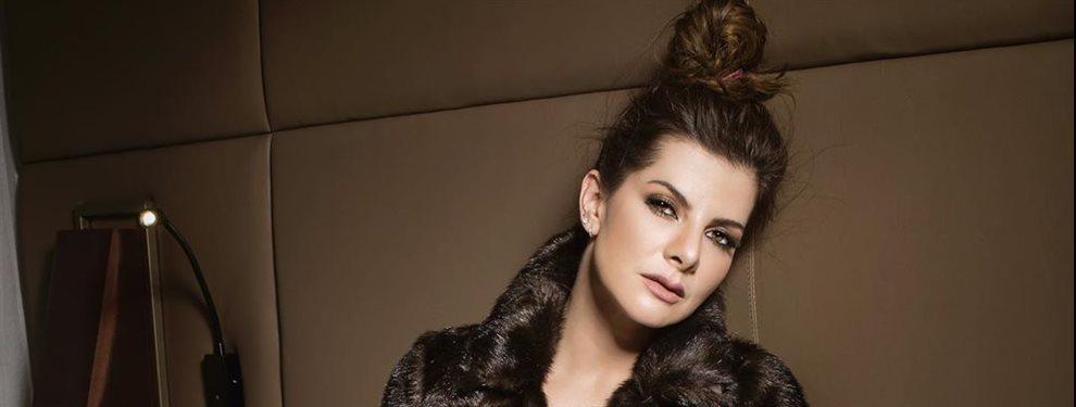 La modelo y presentadora Carolina Cruz Osorio no ha acertado para nada con bañador que se ha puesto y que con toda seguridad ha sido diseñado por ella